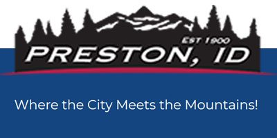 Preston Idaho City Office and Police Department