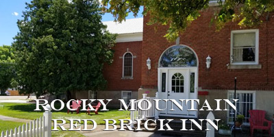 Rocky Mountain Red Brick Inn in Preston Idaho