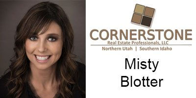 Misty Blotter Sales Agent Cornerstone Real Estate in Preston Idaho