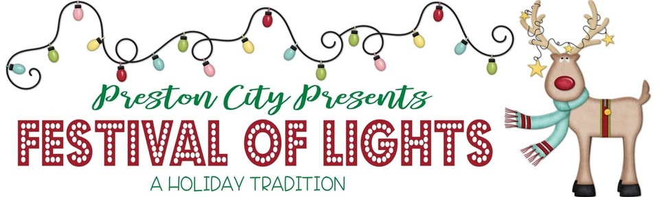 Festival of Lights in Preston idaho
