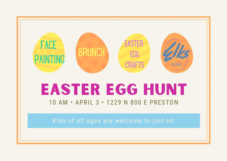 Preston Idaho Easter Egg Hunt